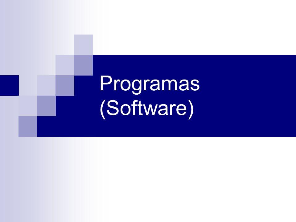 Programas (Software)