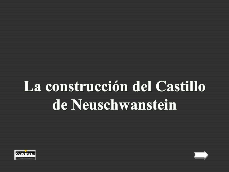 - Luis II nunca vio su castillo terminado.