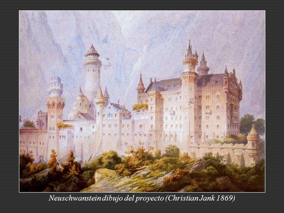 El rey exigió dos condiciones en su construcción: primero, que fuera edificado por trabajadores bávaros y con materiales bávaros, sin apenas excepcion
