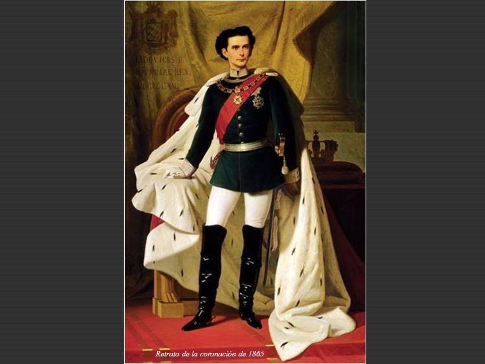 Retrato de la coronación de 1865
