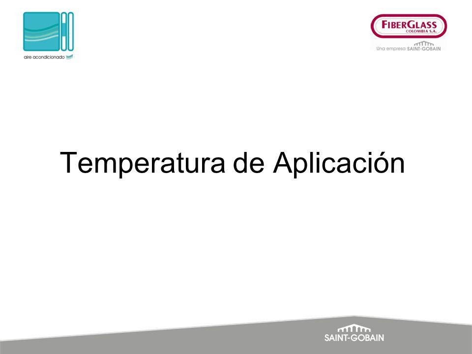 Temperatura de Aplicación