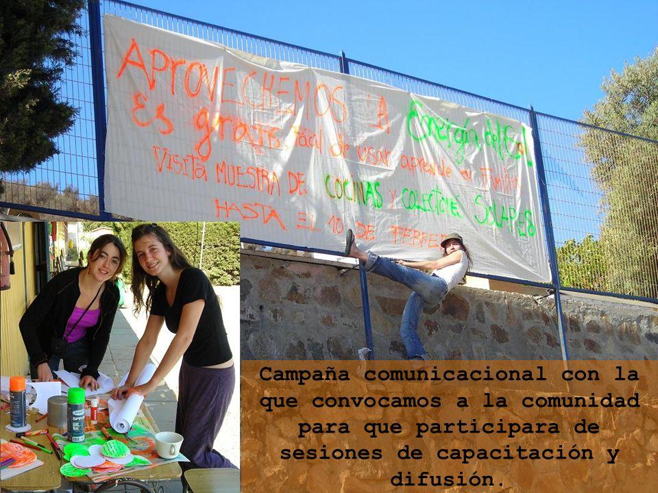 Campaña comunicacional con la que convocamos a la comunidad para que participara de sesiones de capacitación y difusión.