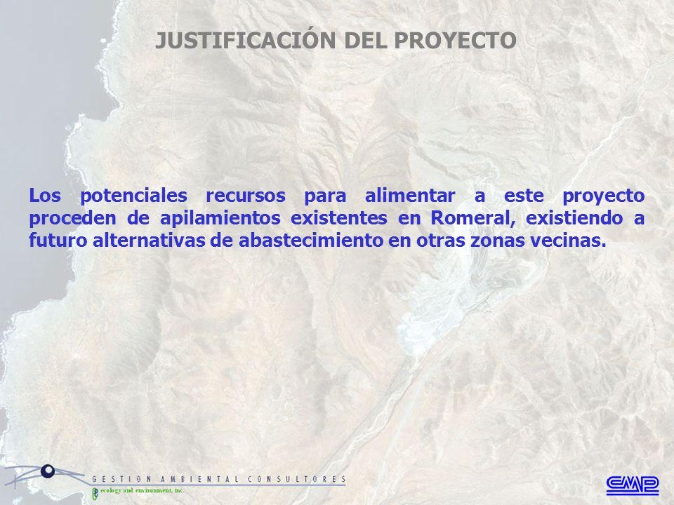Todas las instalaciones proyectadas, excepto por el nuevo depósito de relaves El Trigo, se ubicarán dentro de los terrenos de CMP, los cuales corresponden a una zona de uso industrial- minero de larga data (1950).
