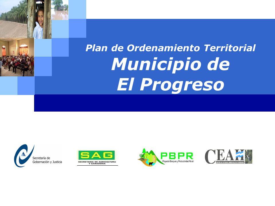 LOGO Plan de Ordenamiento Territorial Municipio de El Progreso