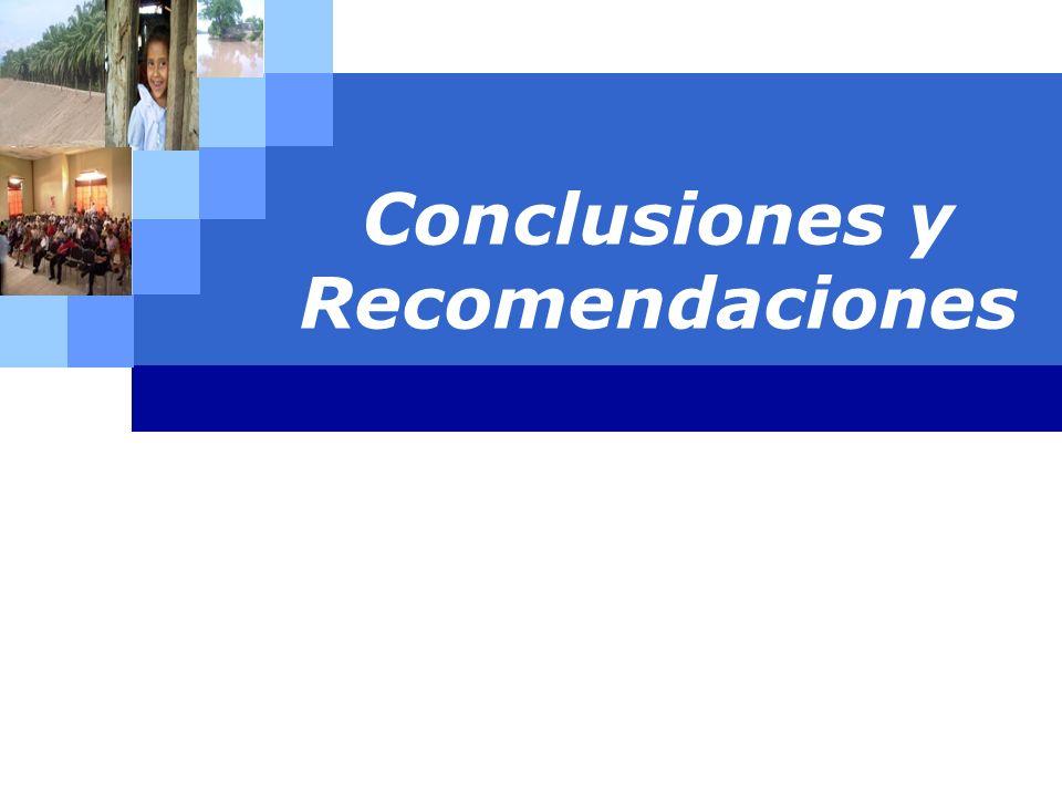 LOGO Conclusiones y Recomendaciones