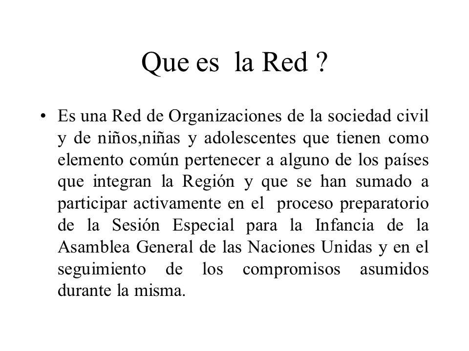 Que es la Red .