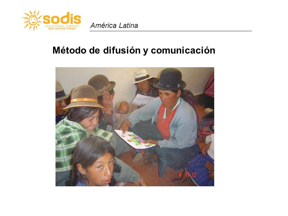 América Latina Método de difusión y comunicación