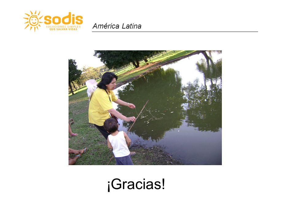América Latina ¡Gracias!