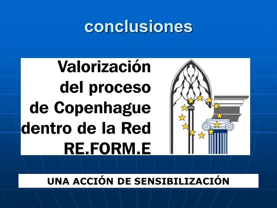 conclusiones UNA ACCIÓN DE SENSIBILIZACIÓN