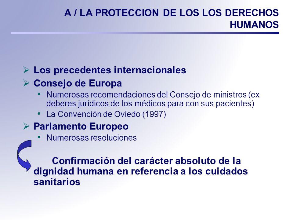 B / LA PROTECCION COMPLEMENTARIA DE LOS DERECHOS SOCIALES Declaración sobre (.