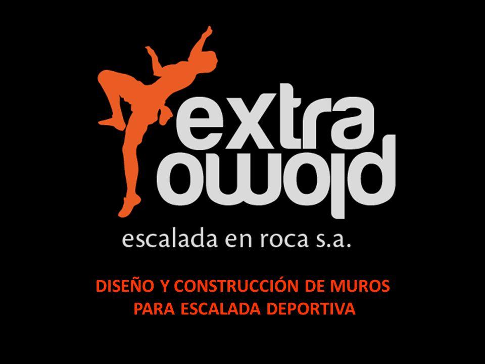 DISEÑO Y CONSTRUCCIÓN DE MUROS PARA ESCALADA DEPORTIVA