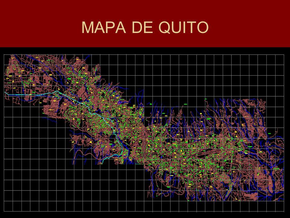 El mapa de Quito confirma que a nuestra ciudad la atraviesan cientos de quebradas, formaciones naturales por donde se conducen las aguas lluvias que bajan del Pichincha.