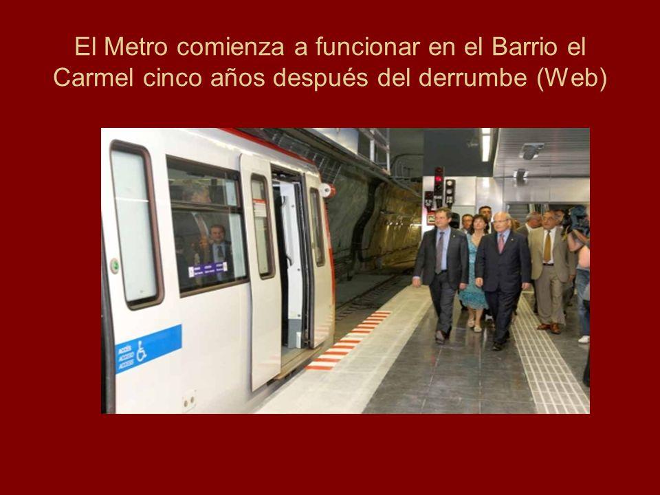Reduce su explotación turística y comercial El Metro, por su recorrido a nivel de subsuelo, no permite conocer al turista la ciudad, contemplarla y recrearse del paisaje urbano.