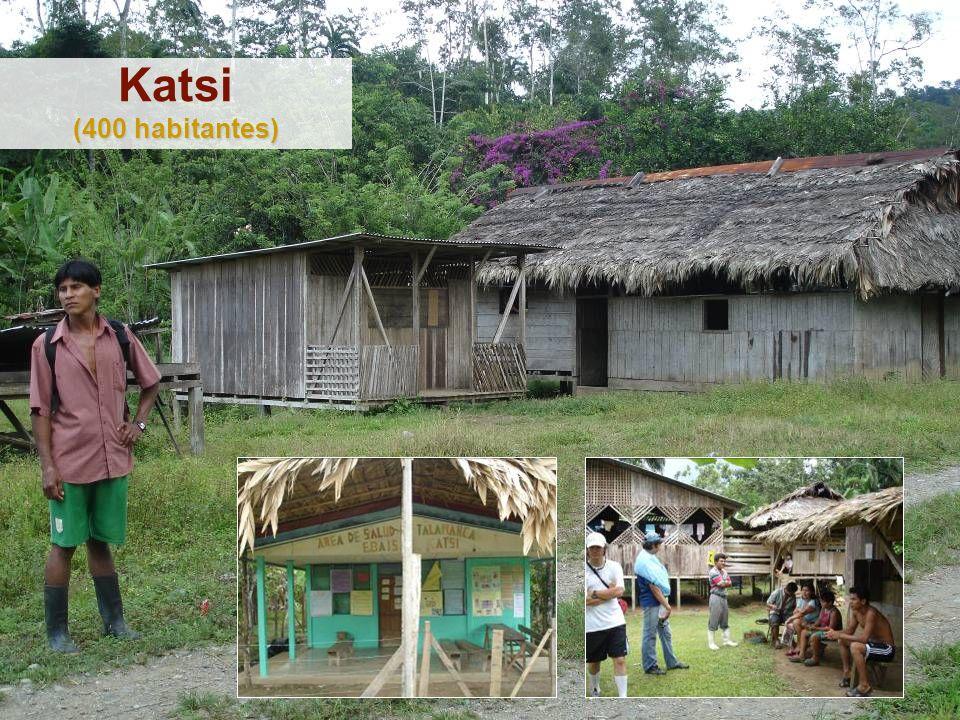 (400 habitantes) Katsi (400 habitantes)