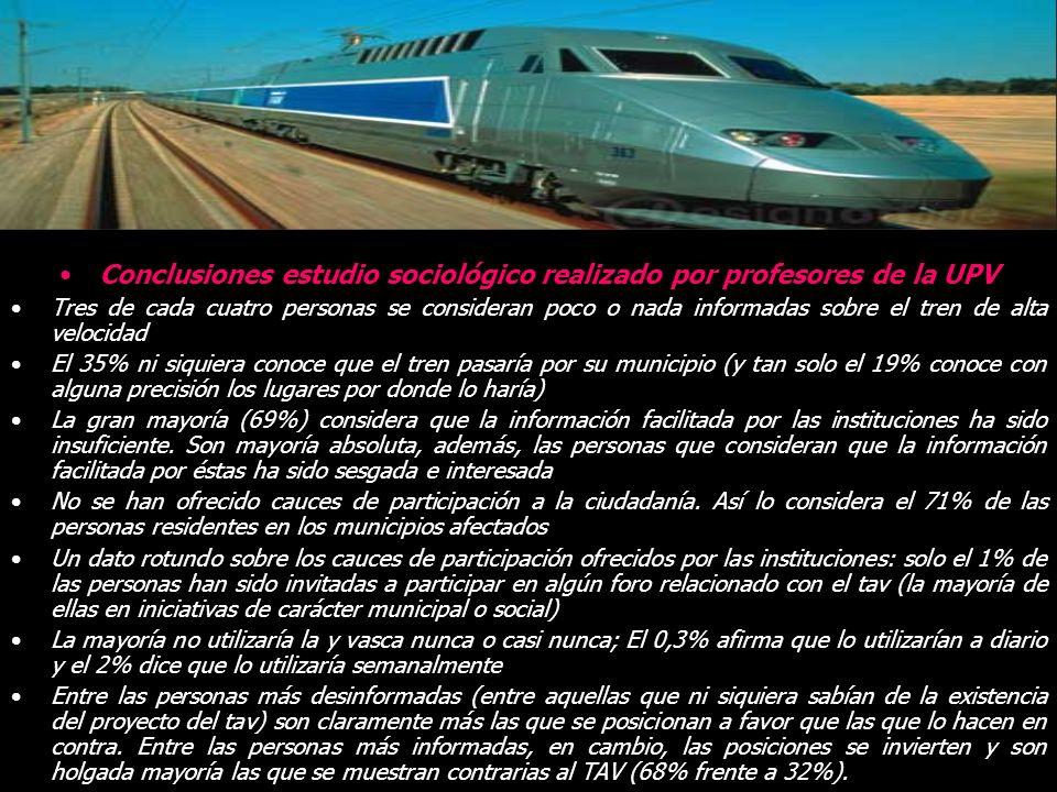 Y vasca 194km. Kilómetros en superficie 73km 37,6% del total Kilómetros en túnel: 104km en 80 túneles Kilómetros en viaducto: 17km en 71 viaductos Anc