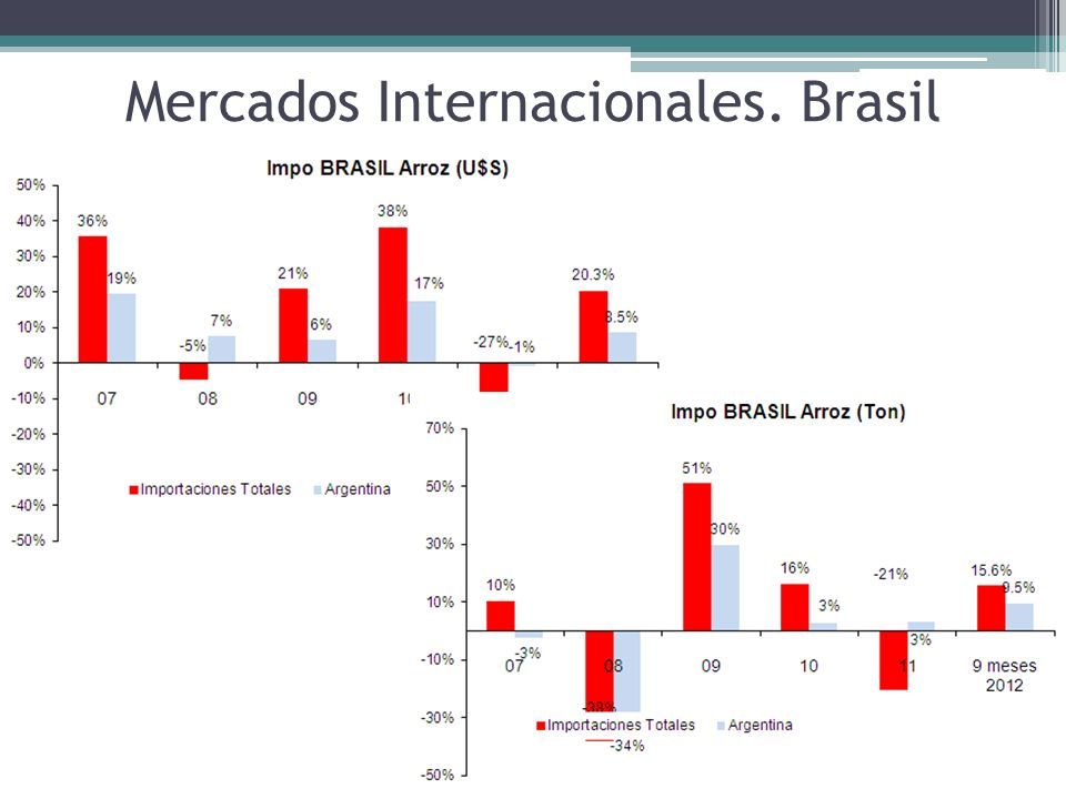 Mercados Internacionales. Brasil