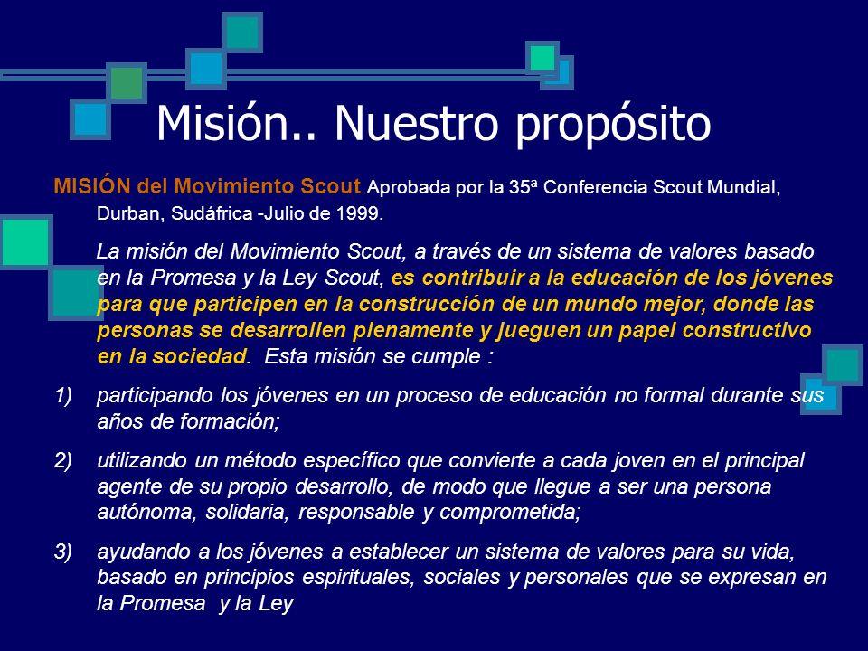 Misión..