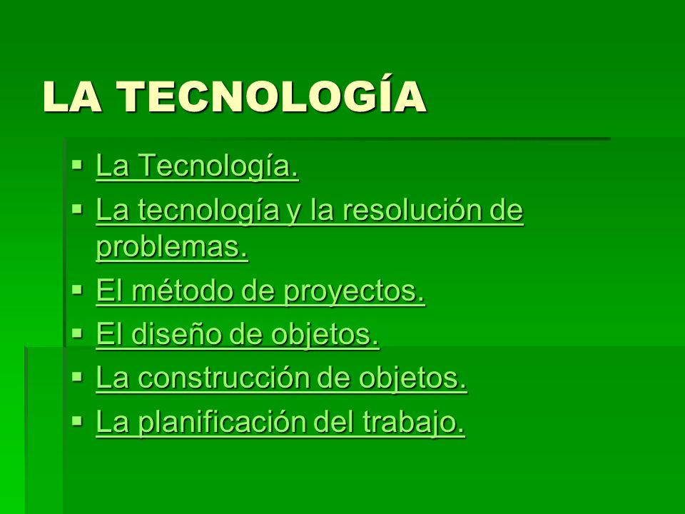 LA TECNOLOGÍA La Tecnología. La Tecnología. La Tecnología.