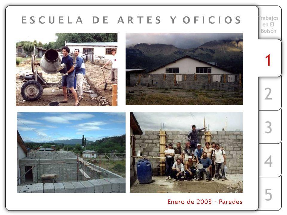 Enero de 2003 - Paredes