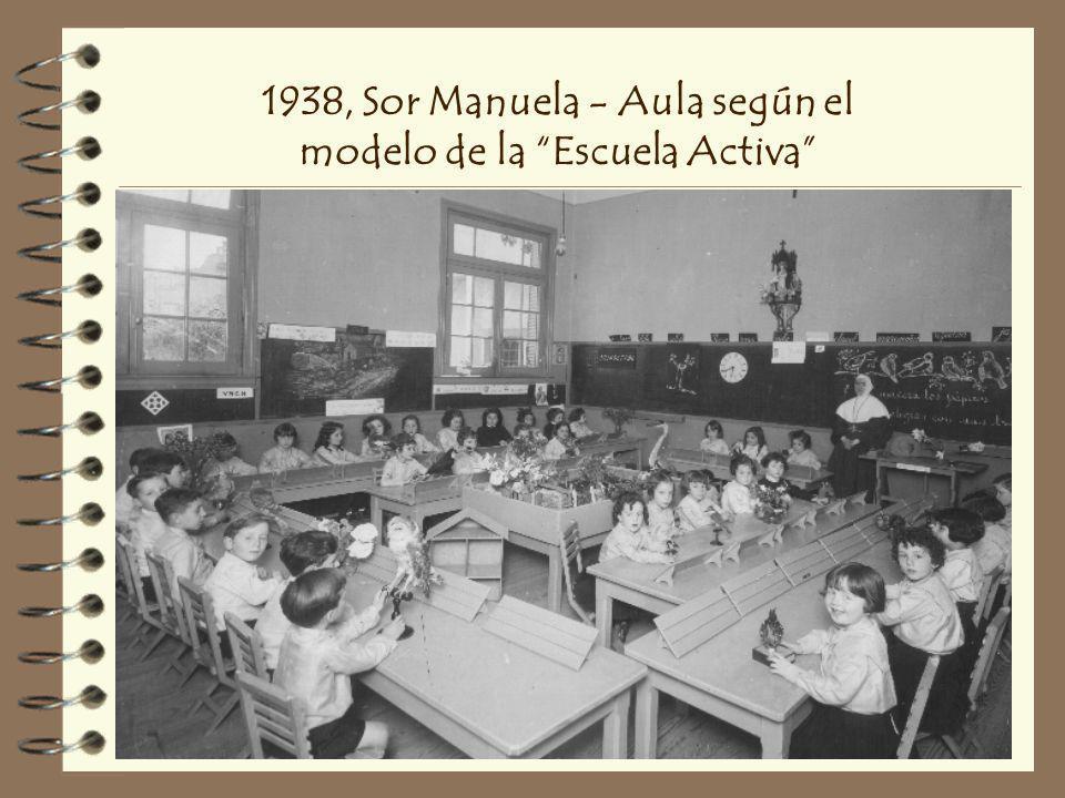 1938, Sor Manuela - Aula según el modelo de la Escuela Activa