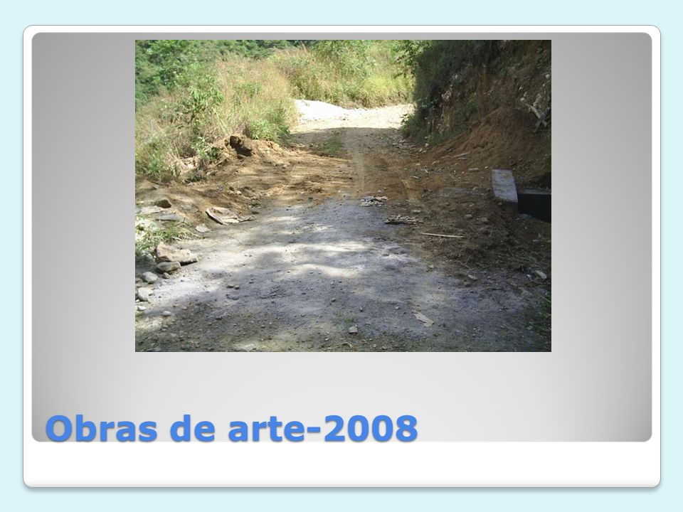 Obras de arte-2008