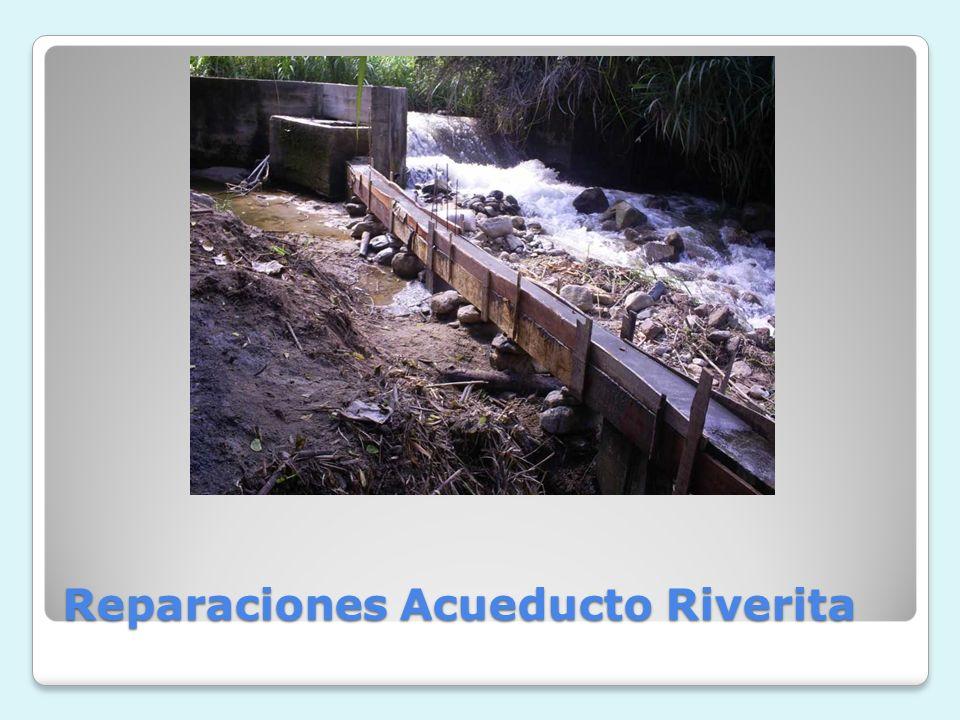 Reparaciones Acueducto Riverita