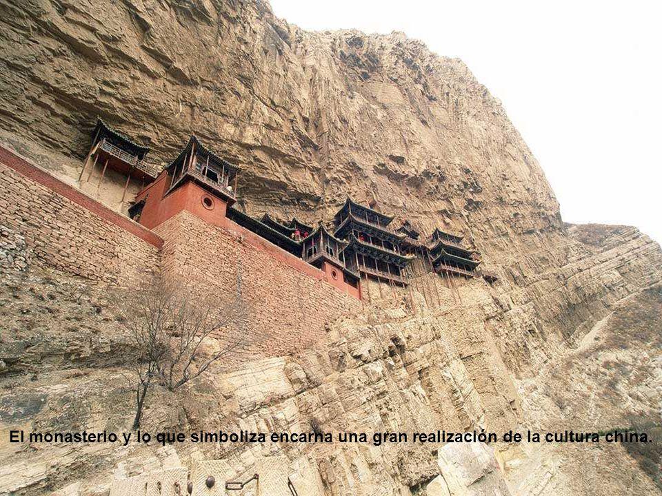 El monasterio y lo que simboliza encarna una gran realización de la cultura china.