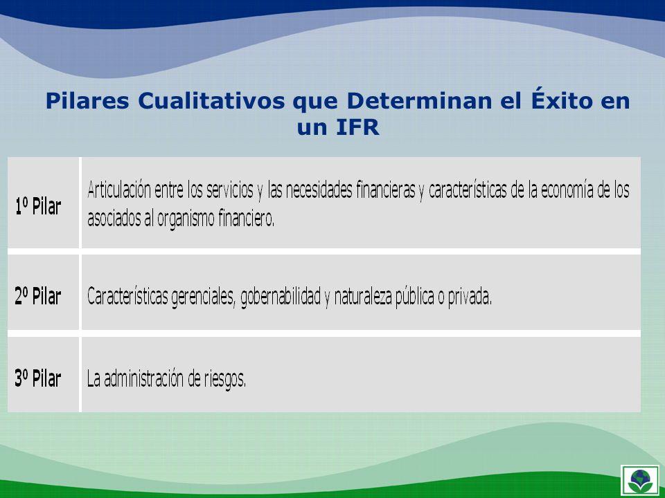 Pilares Cualitativos que Determinan el Éxito en una IFR