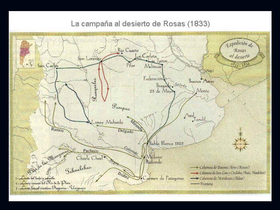 DOBLE PROCESO CARACTERÍSTICO DE LA TRANSICIÓN 1810-1860: Expansión de la frontera. Expansión de la frontera. Apropiación privada de las nuevas tierras