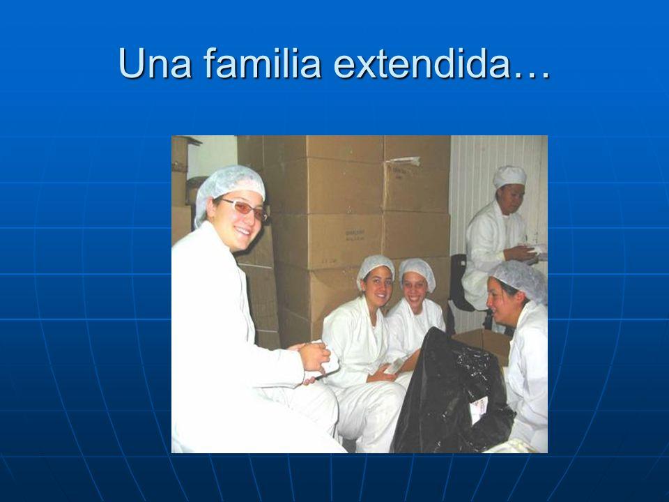 Una familia extendida…