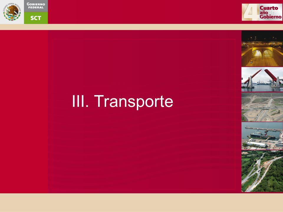 III. Transporte