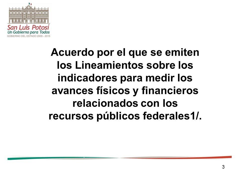 64 Los indicadores anteriores, junto con la información empleada para su cálculo, se difundirán y publicarán de conformidad con los artículos 85 y 107 fracción I de la Ley de Presupuesto; 7 fracción IX, de la Ley Federal de Transparencia y Acceso a la Información Pública Gubernamental, y 51 de la Ley.