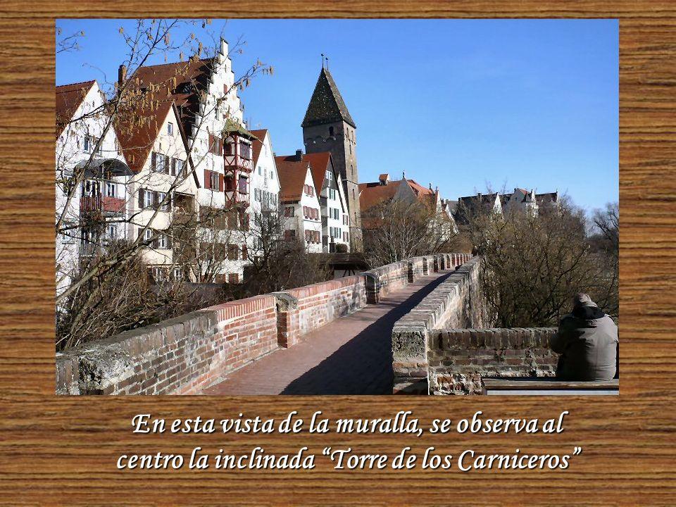 Como la mayoría de las ciudades antiguas, Ulm está rodeada de murallas protectoras.