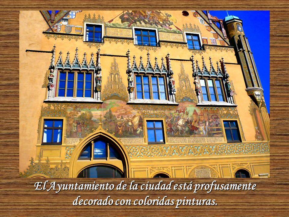 Edificio del Ayuntamiento de la ciudad.