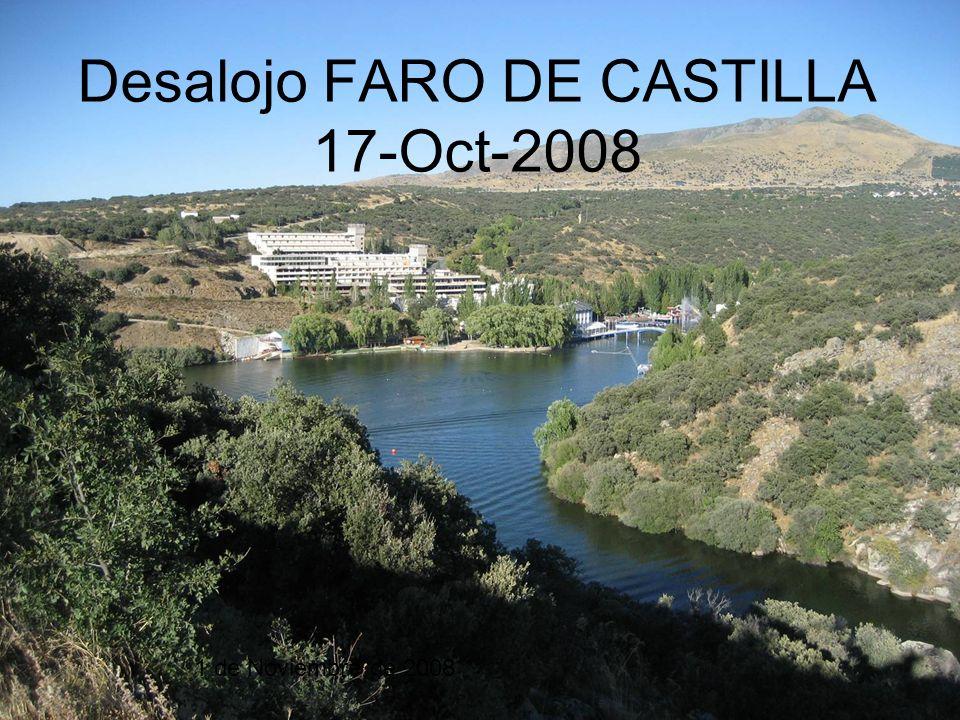 Desalojo FARO DE CASTILLA 17-Oct-2008 1 de Noviembre de 2008