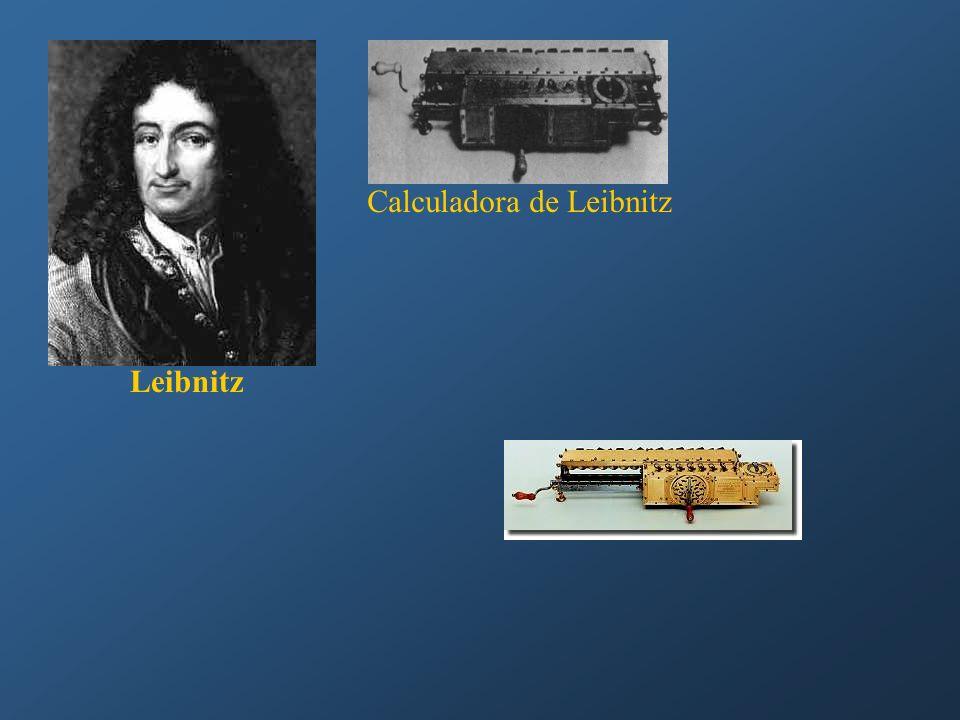 Calculadora de Leibnitz Leibnitz