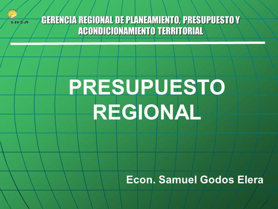 GOBIERNO REGIONAL PIURA Piura, Abril de 2006