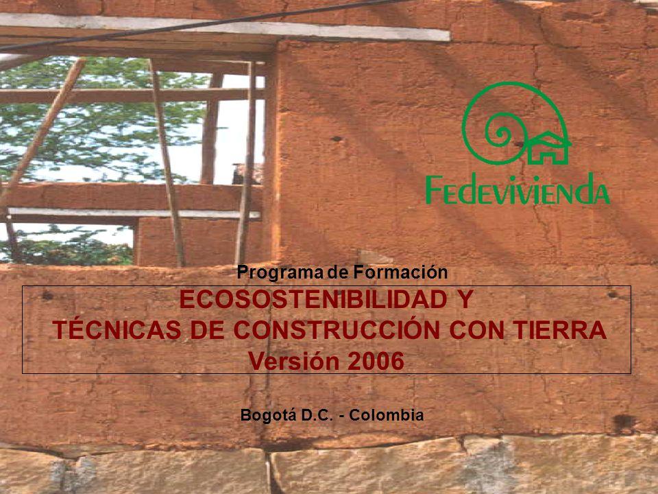 Formar personas que estén en la capacidad de ejecutar y/o dirigir procesos constructivos de viviendas en tecnologías alternativas (con tierra, piedra, madera) aplicando principios y normas técnicas con criterios claros de Ecosostenibilidad.
