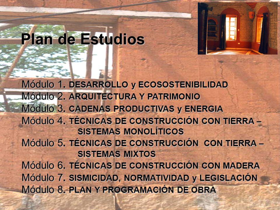 Dirigido a Profesionales del área de la arquitectura, construcción, ingeniería y técnicos interesados en ampliar su formación profesional y práctica.