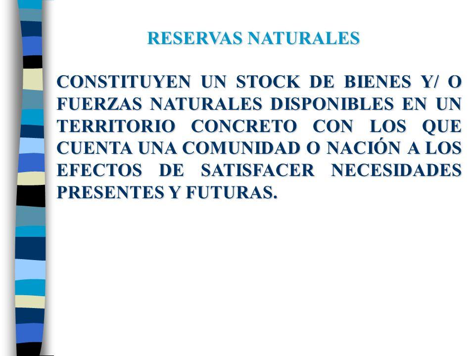 RECURSOS NATURALES VALORACIÓNSOCIAL NATURALEZA FUNCIONAMIENTO INTEGRAL y DIVERSO MATERIALIDAD TERRITORIAL y TEMPORAL RESERVASNATURALES RECURSOSNATURALES IMPACTOSAMBIENTALES UTILIZACIÓNSOCIAL