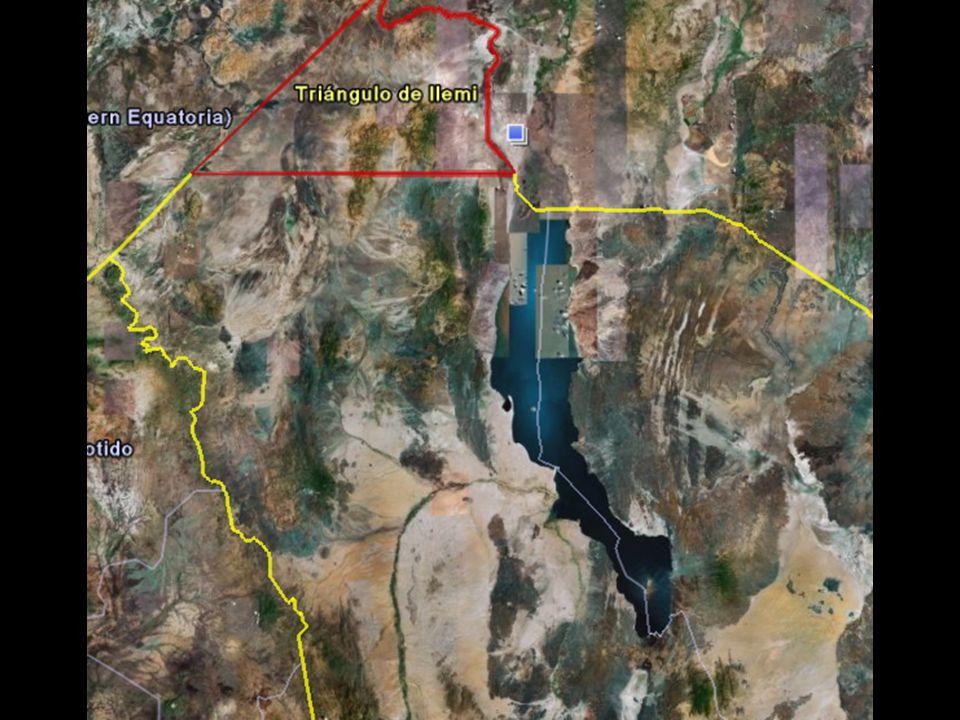 Datos de Turkana Turkana esta al Noroeste de Kenia, al lado izquierdo del lago Zona semidesértica con terribles sequías cíclicas, con importantes problemas de agua.