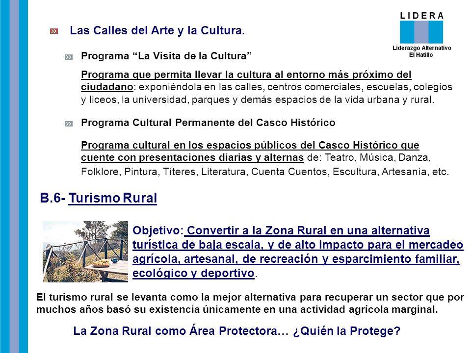 Las Calles del Arte y la Cultura.