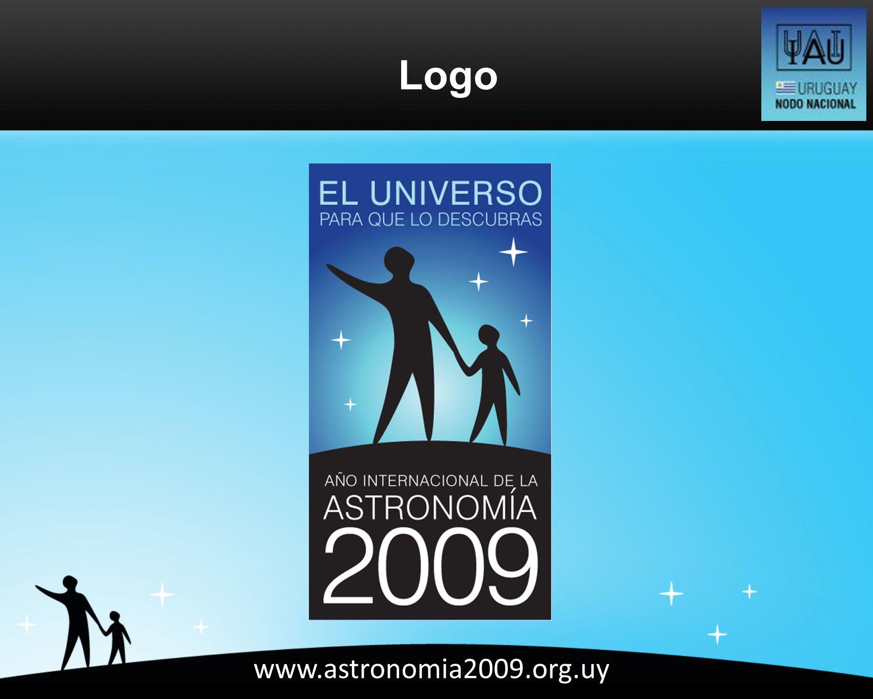www.astronomia2009.org.uy Logo
