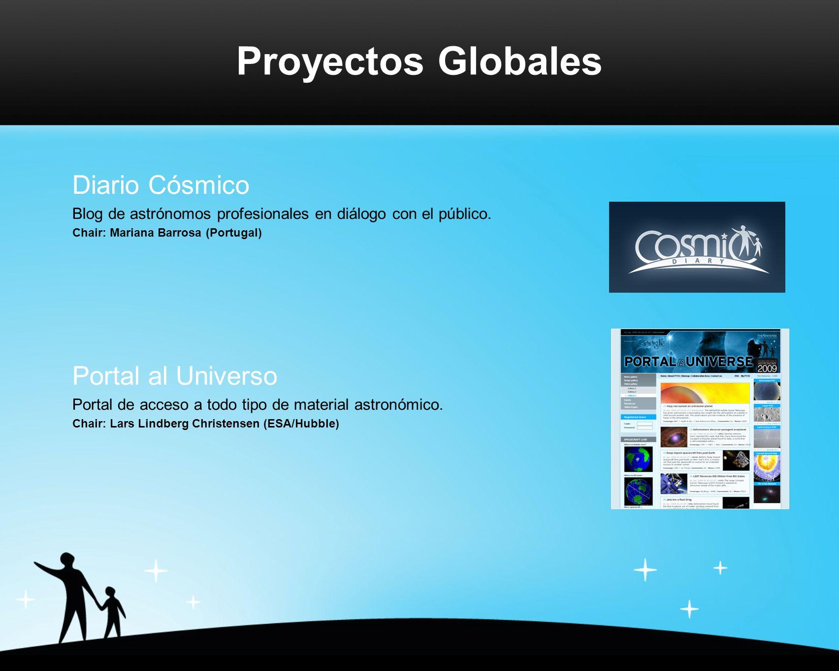 Diario Cósmico Blog de astrónomos profesionales en diálogo con el público.