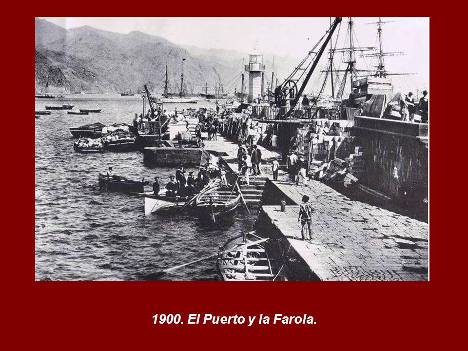 La Farola del Mar. Encendida: 31 diciembre 1863. Apagada: 30 junio 1954.