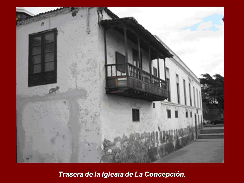 Trasera de la Iglesia de La Concepción.