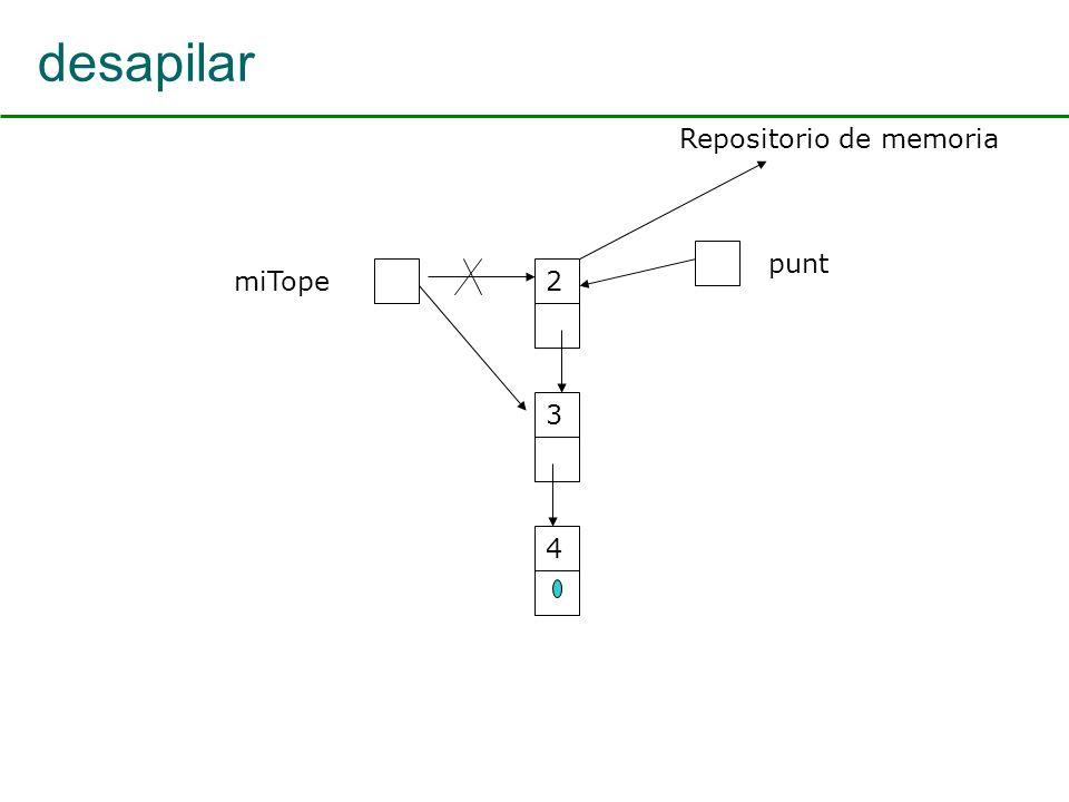 desapilar miTope2 3 4 punt Repositorio de memoria