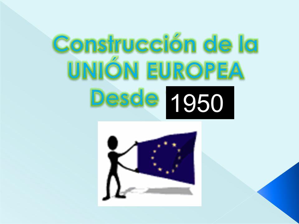 Tratados de Roma - Tratados CEE y Euratom (1958) Finalidad : instaurar la Comunidad Económica Europea (CEE) y la Comunidad Europea de la Energía Atómica (Euratom).