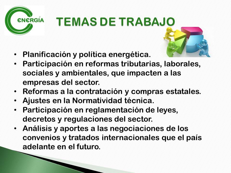 Planificación y política energética.