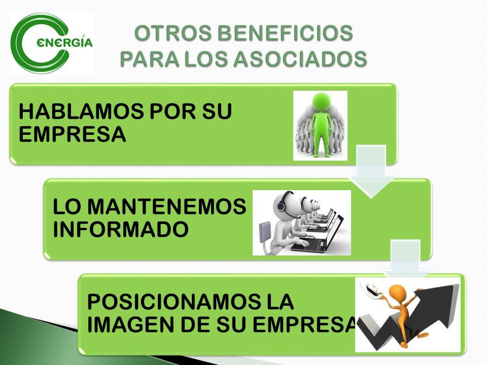 INVESTIGAMOS EL MERCADO NACIONAL E INTERNACIONAL DE SU NEGOCIO SUS CUOTAS DE AFILIACIÓN TIENEN BENEFICIOS TRIBUTARIOS